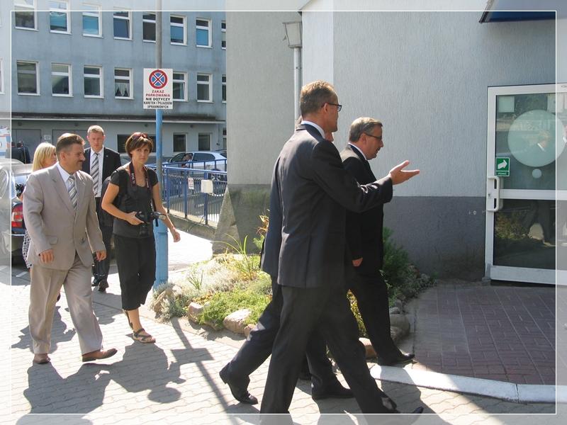 WIZYTA MINISTRA SPRAW WEWNĘTRZNYCH – 18 sierpnia 2011 r.