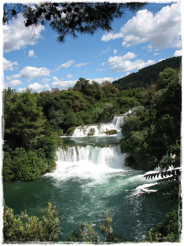 Chorwacja – Wodospady Krka