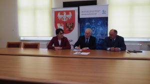 """Podpisanie umowy o dofinansowanie projektu """"Rozwój elektronicznych usług publicznych w SP ZOZ MSWiA z W-MCO w Olsztynie – etap II"""" – 28 marca 2019 r."""