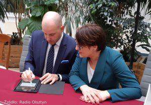 Uroczystość podpisania umowy o dofinansowanie projektu, wrzesień 2019