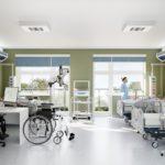 2. Sala Intensywnego Nadzoru - część Klinicznego Oddziału Hematologii